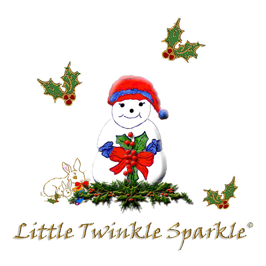 Little Twinkle Sparkle Mixed Media