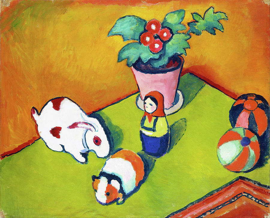 Little Walter's Toys - Digital Remastered Edition by August Macke