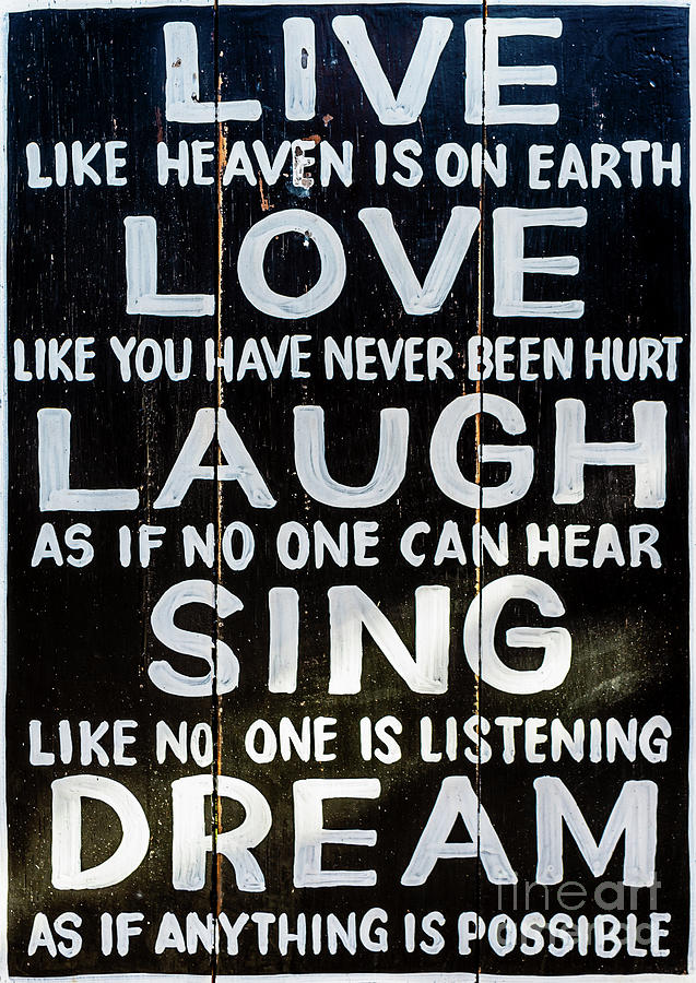 Live Like Heaven is on Earth by Miles Whittingham