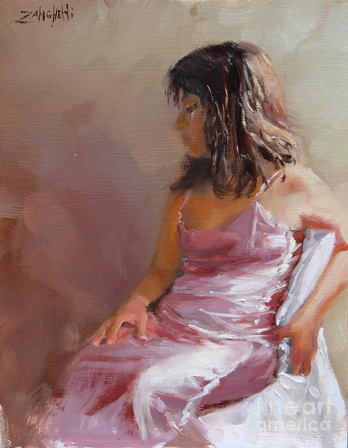 Live Model two by Laura Lee Zanghetti