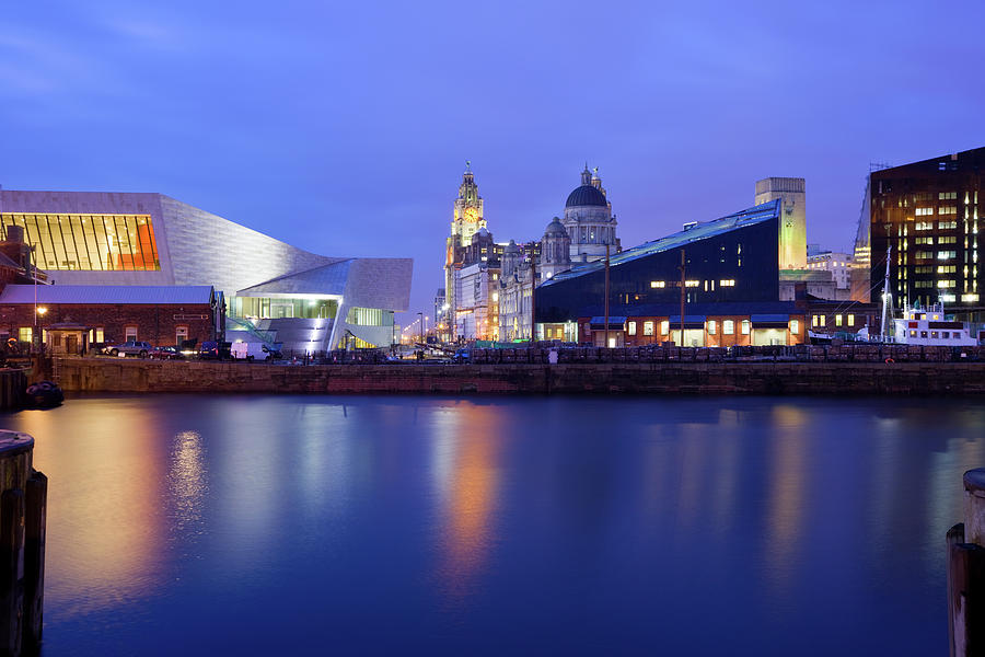 Liverpool England Uk Photograph by Benedek