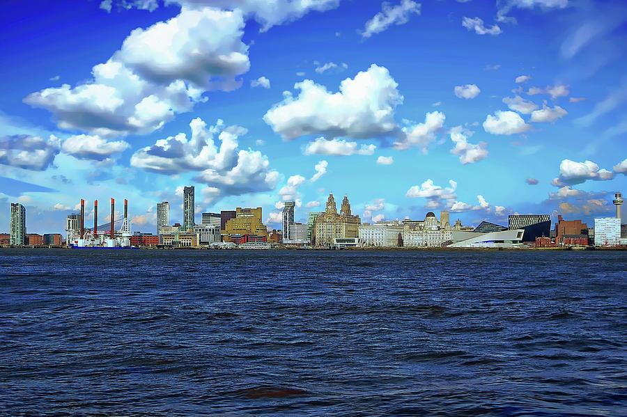 Liverpool Skyline by Anthony Dezenzio
