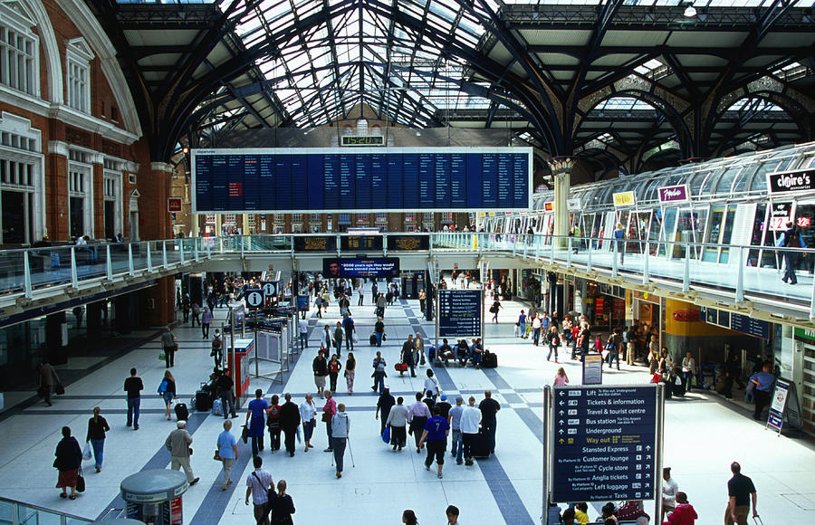 Liverpool Street Station., London Photograph by Lonely Planet