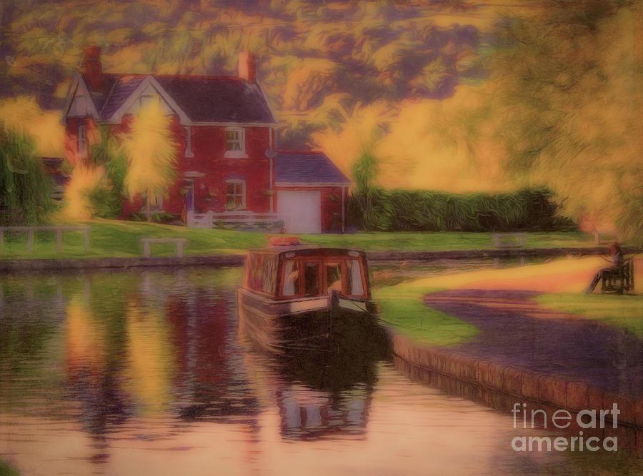 Llangollen Wharf by Leigh Kemp