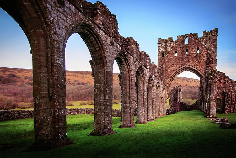 Llanthony Priory, Vale Of Ewyas, Wales Photograph by Joe Daniel Price