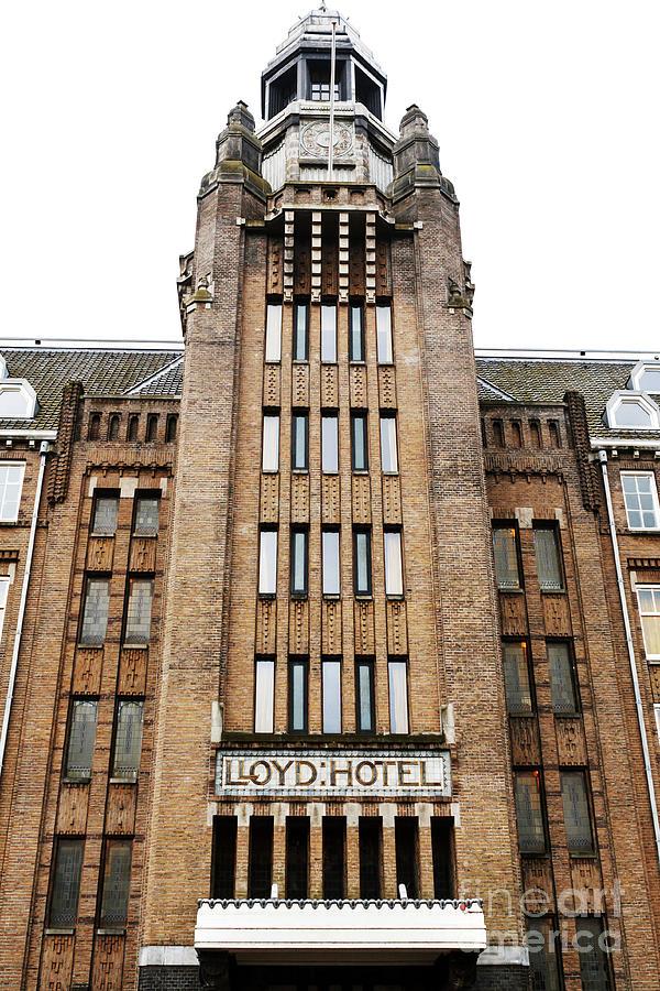 Lloyd Hotel Tower in Amsterdam by John Rizzuto
