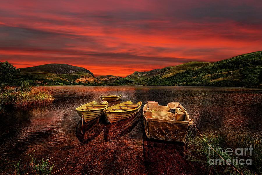 Llyn Nantlle Uchaf Snowdonia by Adrian Evans