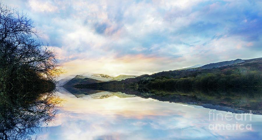 Llyn Padarn by Ian Mitchell
