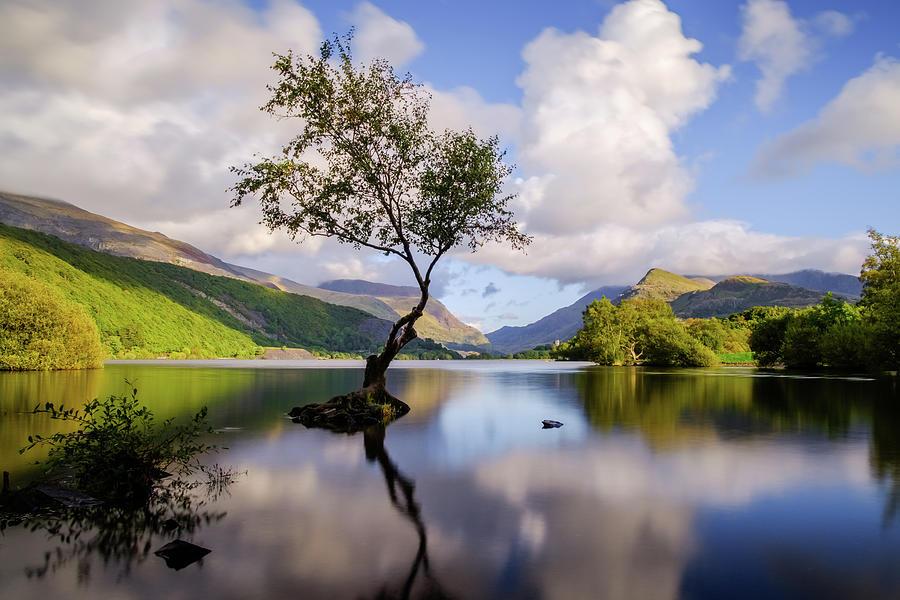 Llyn Padarn, Snowdonia by Peter OReilly