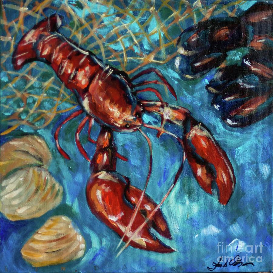 Lobster Dinner by Linda Olsen