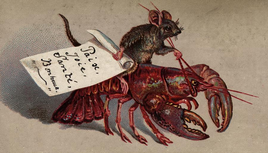 Lobster Jockey Photograph by Hulton Archive