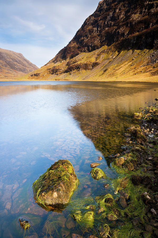 Loch Achtriochtan Photograph by Andrew Sproule