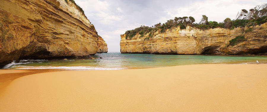 Loch Ard Gorge Beach Photograph by Visual Clarity Photography