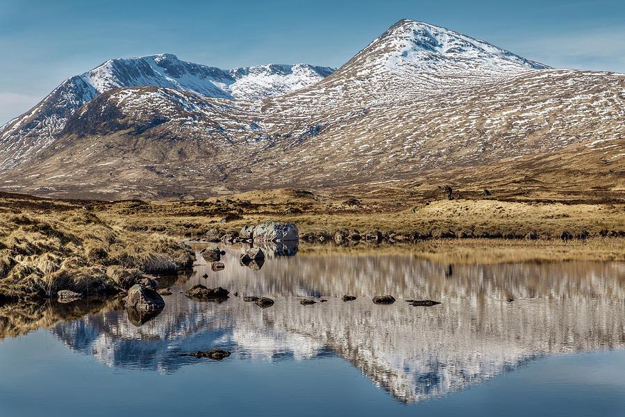 Glen Coe Photograph - Loch Ba by John Frid