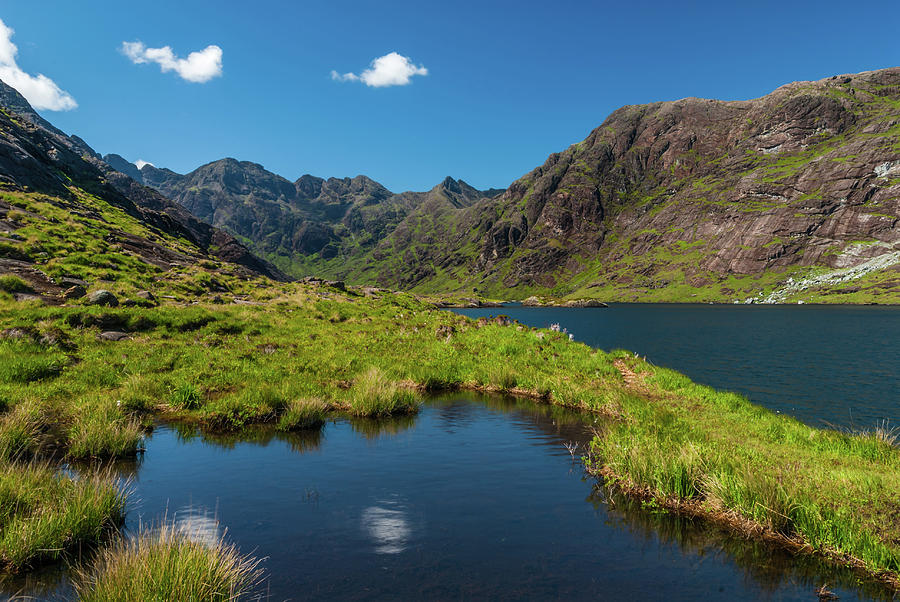 Skye Photograph - Loch Coriusk, Isle Of Skye by David Ross