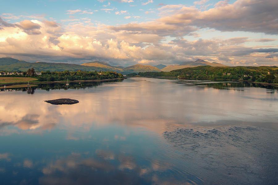 Loch Etive Sunset by Ray Devlin