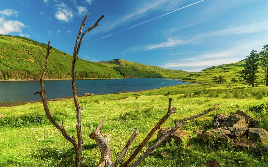 Isle Of Skye Photograph - Loch Eynort, Isle Of Skye by David Ross