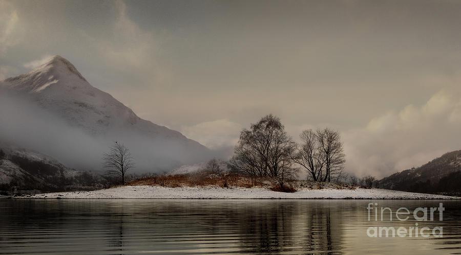 Loch Leven Island Photograph