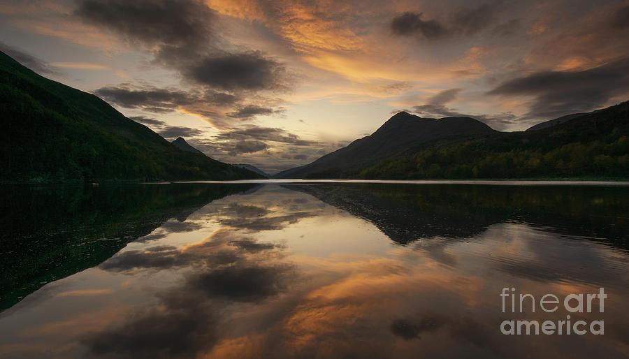 Loch Leven Sunset Photograph