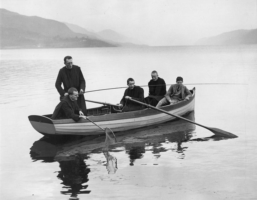 Loch Ness Monks Photograph by Reg Speller