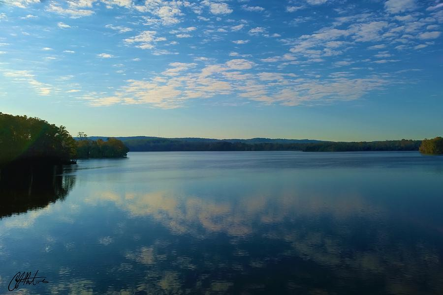 Loch Raven Reservoir Bridge by Chris Montcalmo