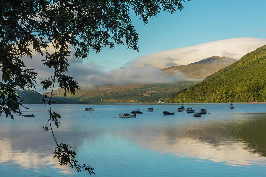Ben Lawers Photograph - Loch Tay Dawn by David Ross