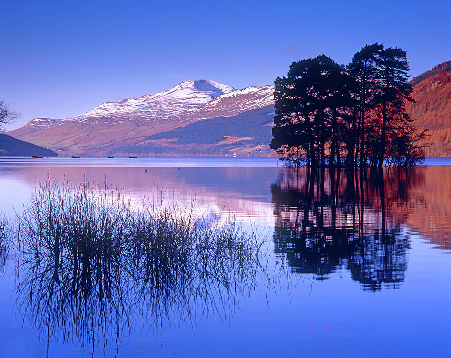 Loch Tay, Kenmore, Scotland Uk Photograph by Kathy Collins