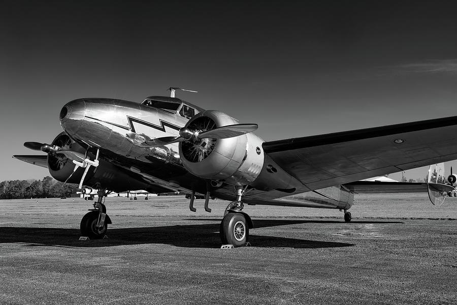 Lockheed 12A Electra by Chris Buff