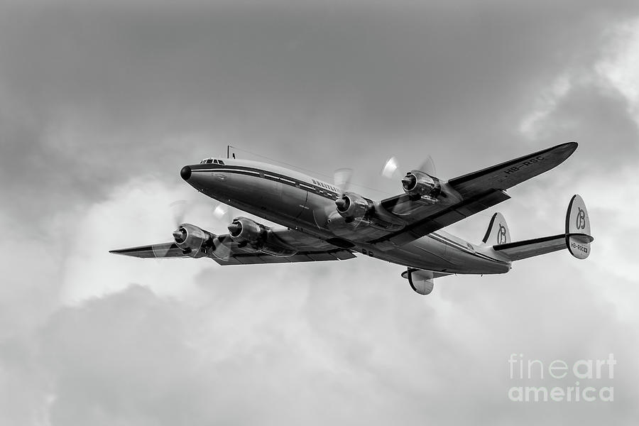 Lockheed Breitling Super Constellation  by Andy Myatt