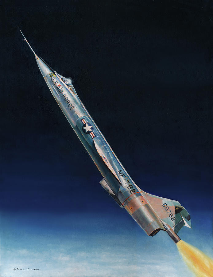 Lockheed NF-104 by Douglas Castleman
