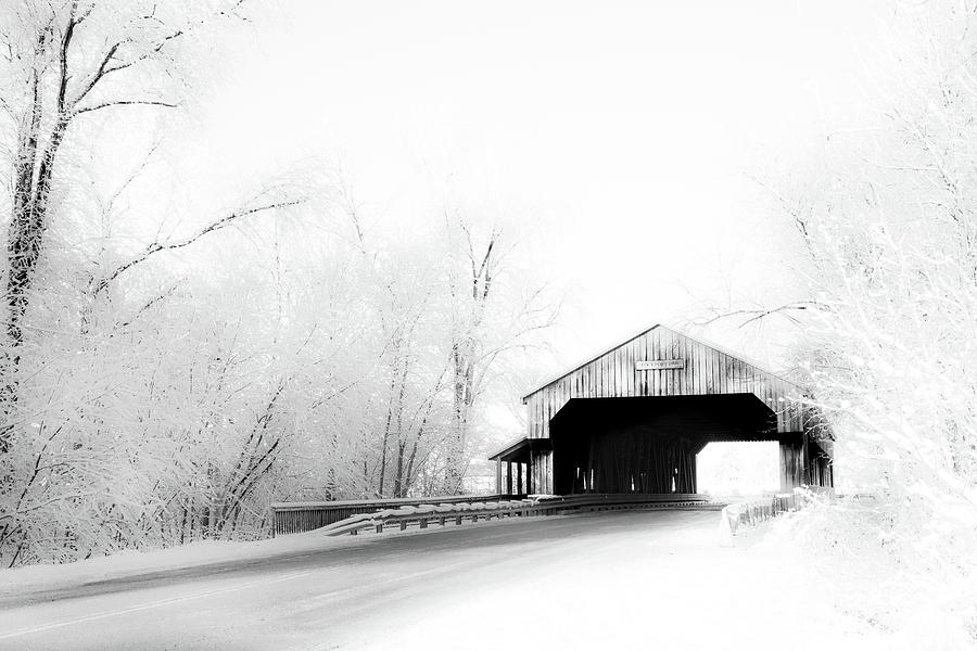 Lockport Covered Bridge by Michael Arend
