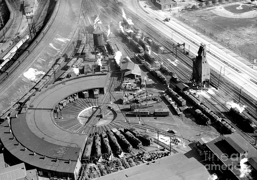 Locomotives Of The Long Island Rail Photograph by New York Daily News Archive