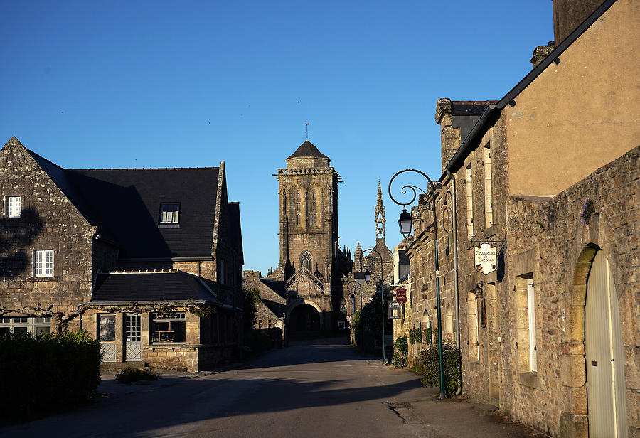 French Village Photograph - Locronan 10 by Andrew Fare