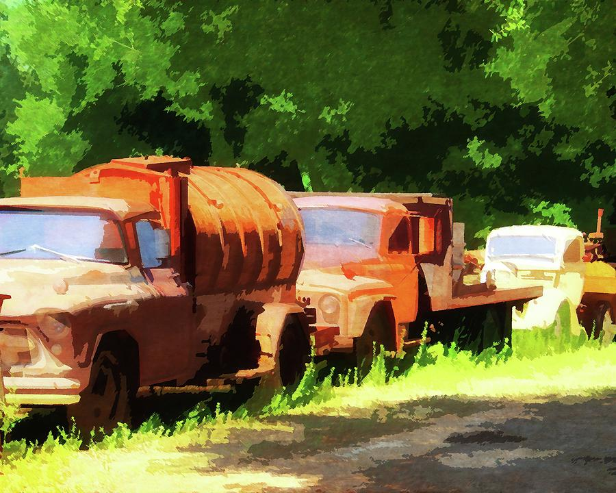 Lodi Farm Trucks by Timothy Bulone