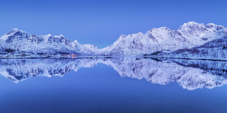 Panorama Photograph - Lofoten Panorama by Ulrike Eisenmann