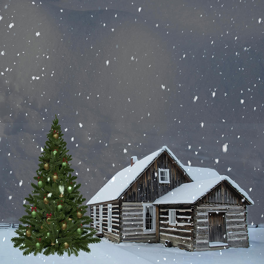 Log Cabin Christmas by Marilyn Wilson