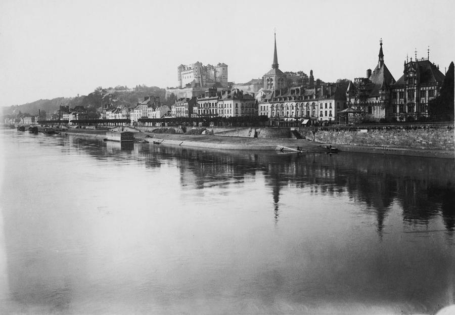 Loire At Saumur Photograph by Topical Press Agency