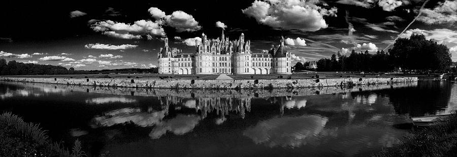 Horizontal Photograph - Loire Castle, Chateau De Chambord by Panoramic Images