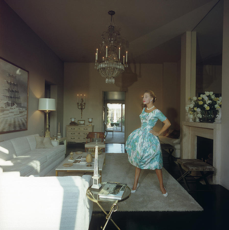 Lola Albright Photograph by Slim Aarons