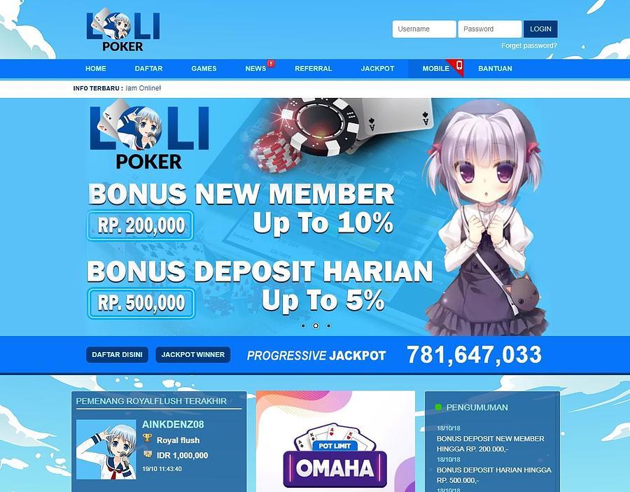 Lolipoker Situs Poker Online Bank Danamon 24 Jam Indonesia Photograph By Loli Poker