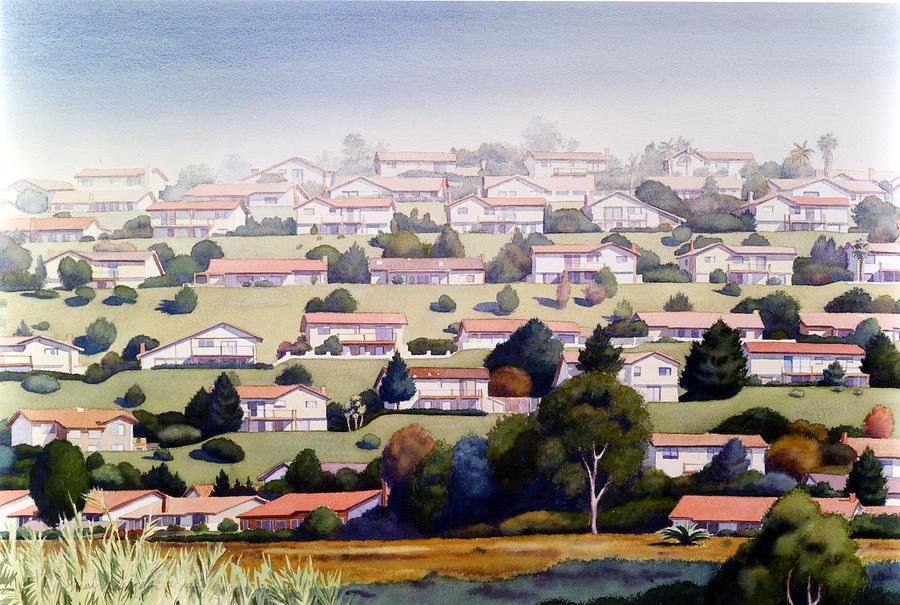 Lomas Santa Fe by Mary Helmreich