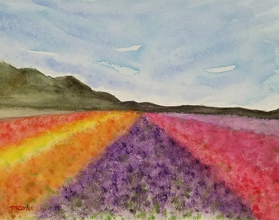 Lompoc Flower Fields by M Carlen