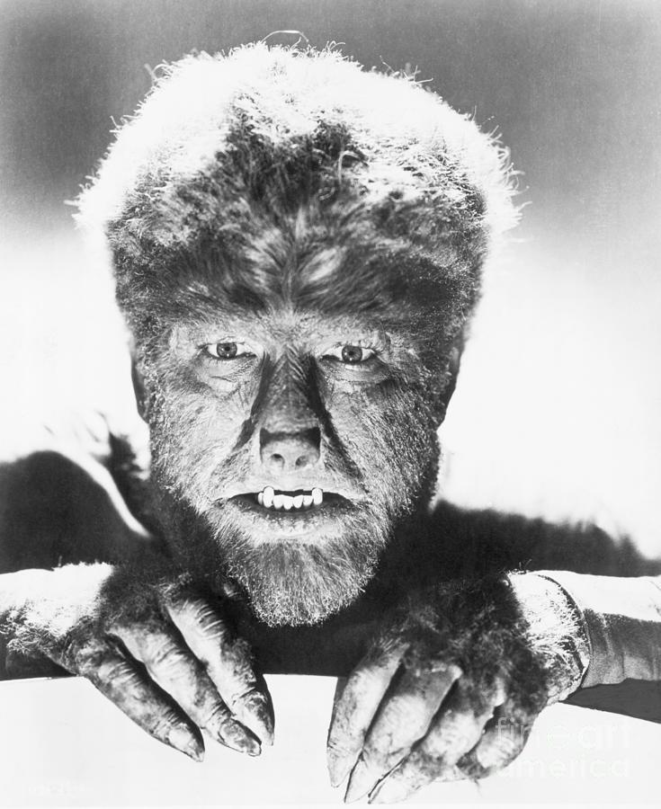 Lon Chaney Jr. In The Wolf Man Photograph by Bettmann