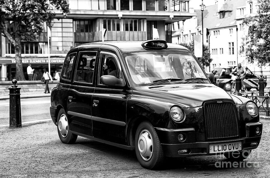 London Black Cab by John Rizzuto