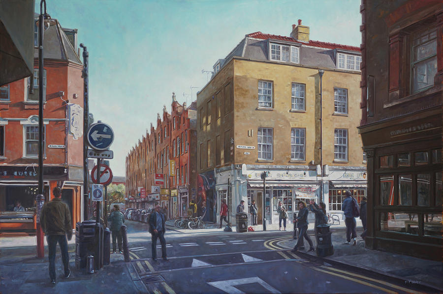 London Brick Lane  by Martin Davey