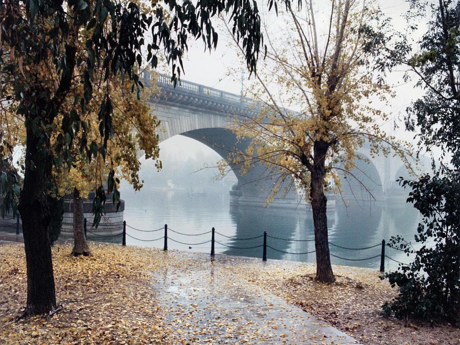 London  Bridge Fog 090085-8-n by Tam Ryan