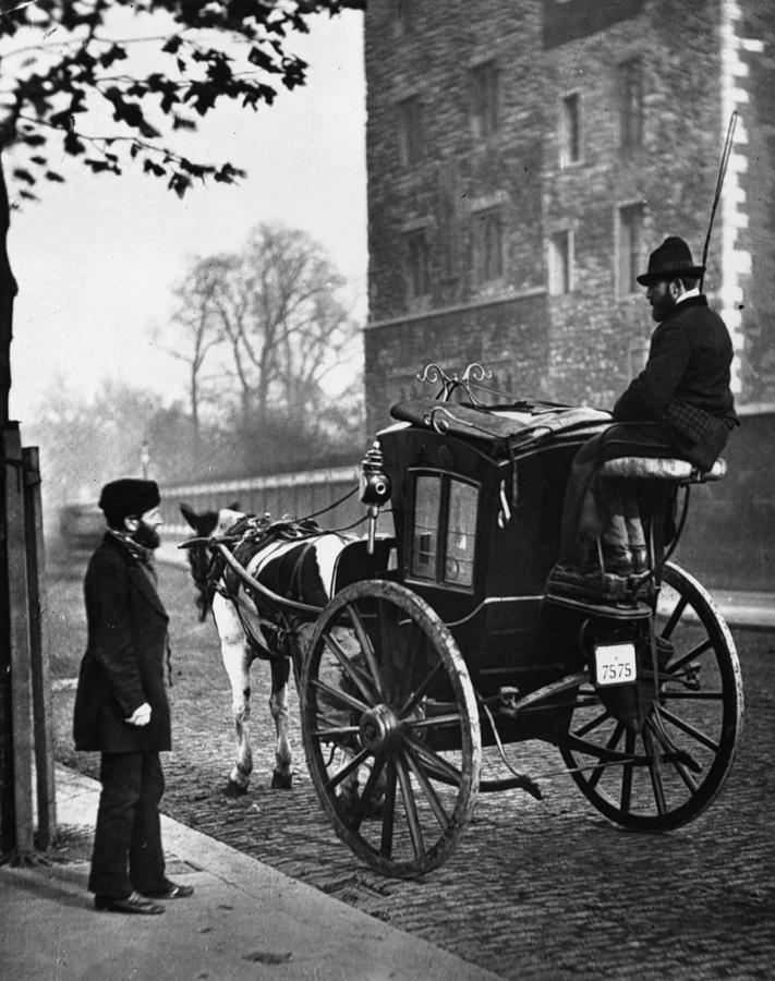 London Cabmen Photograph by John Thomson