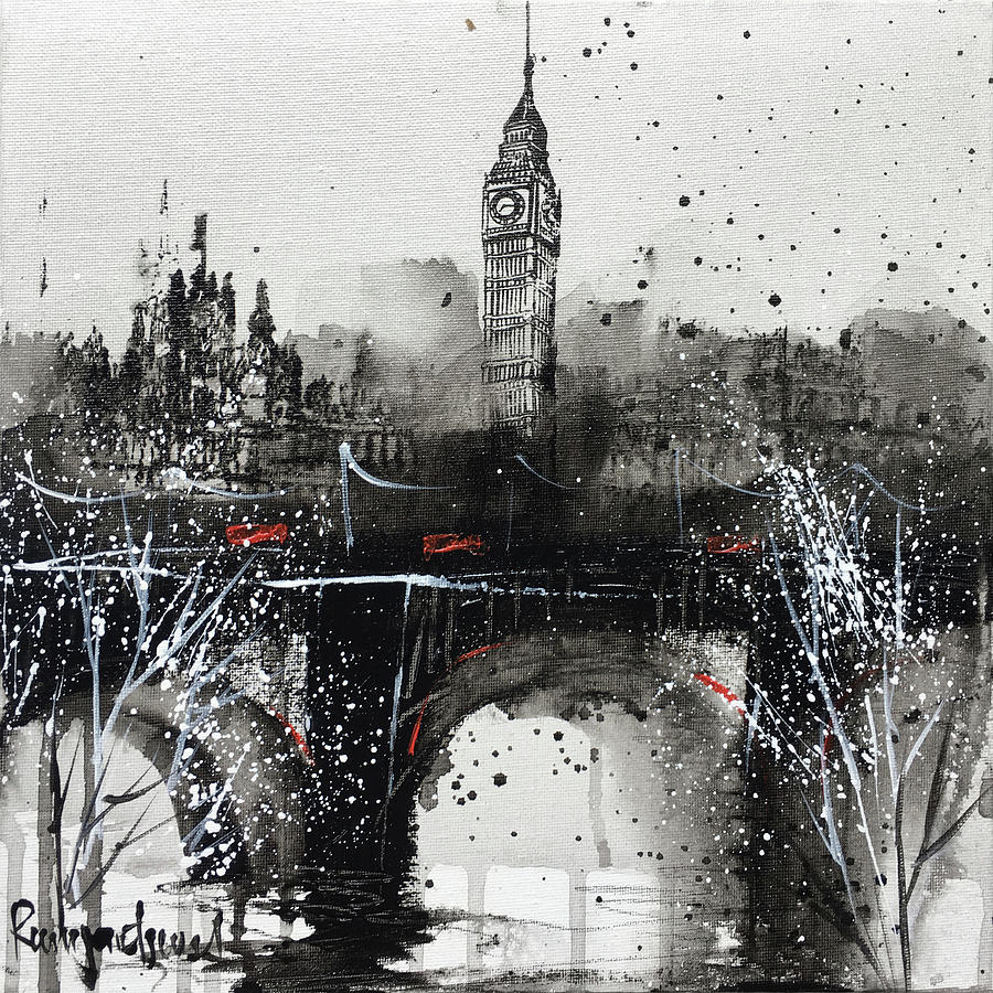 London Cityscape C01N01 by Irina Rumyantseva