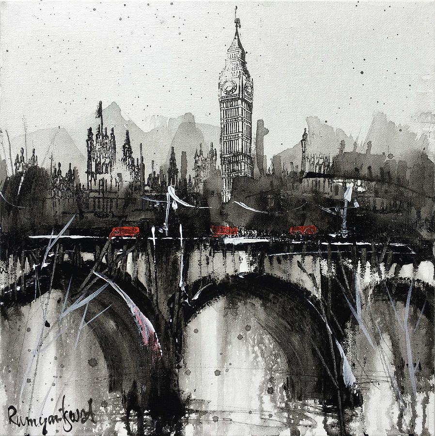 London Cityscape C01N05 by Irina Rumyantseva