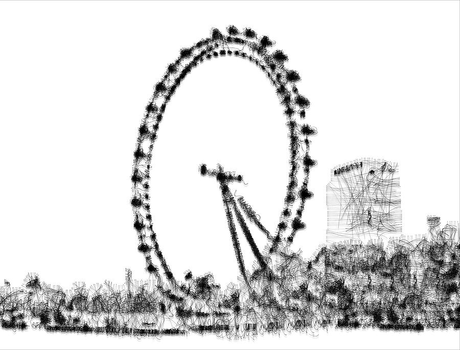 London Eye Digital Art